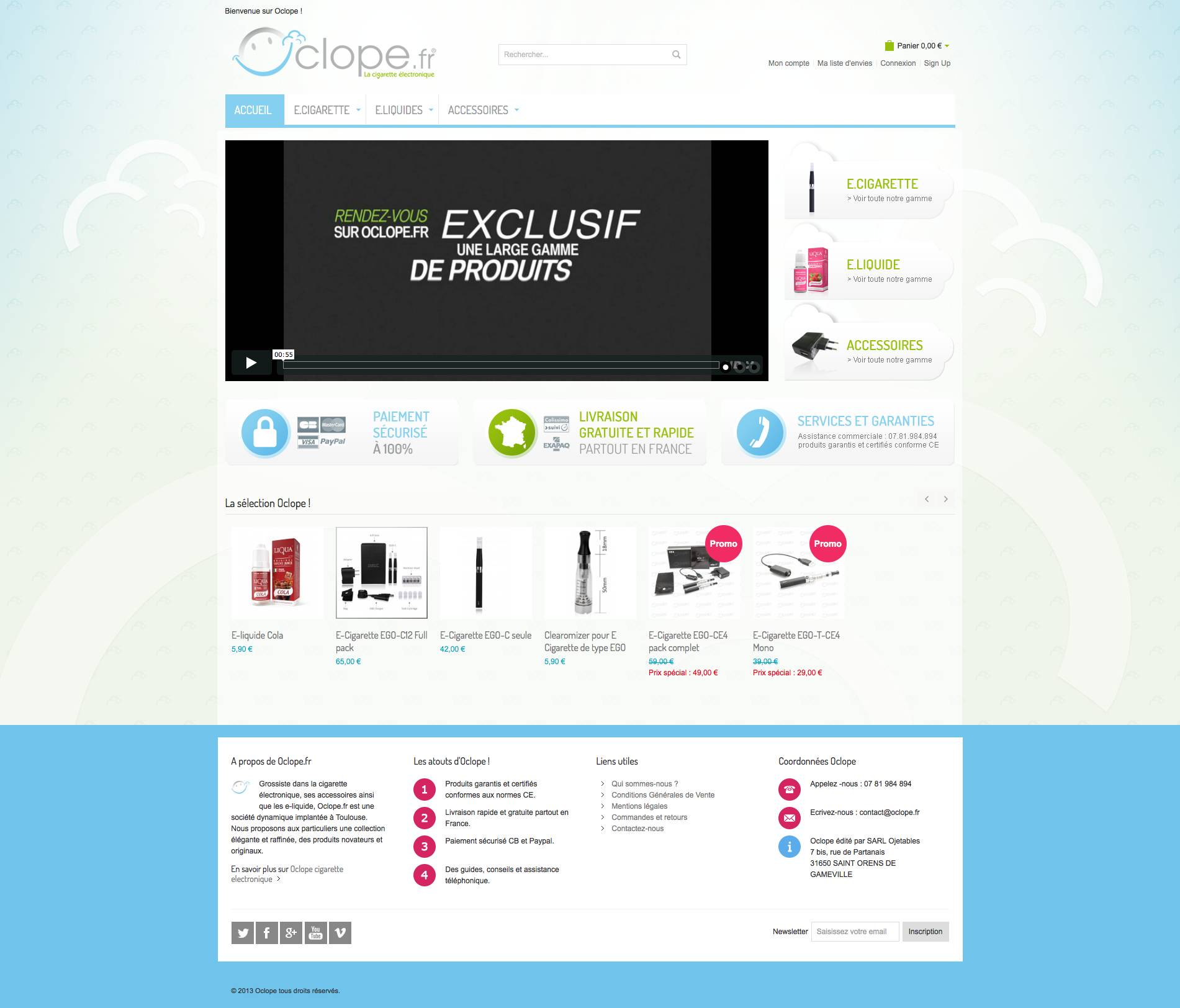 site magento commerce oclope